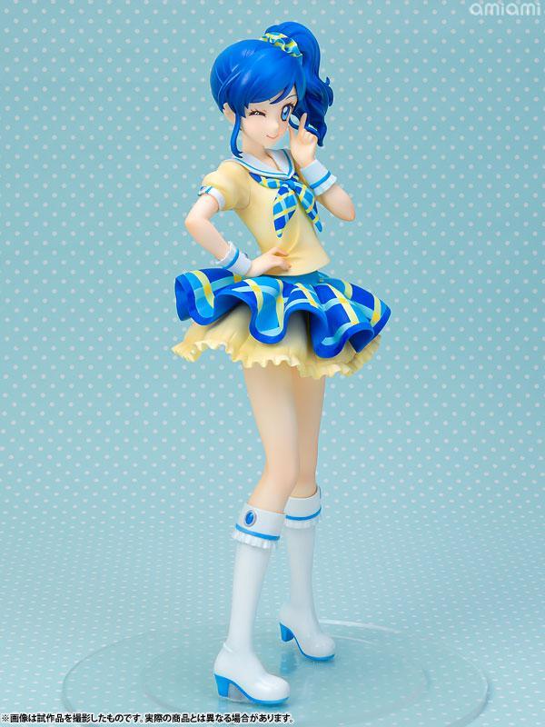 Lucrea Aikatsu! Aoi Kiriya Blue Stage Coord 1/7 Complete Figure 6