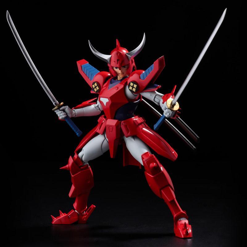 Choudan Kadou Ronin Warriors Ryo of the Wildfire Posable Figure 9