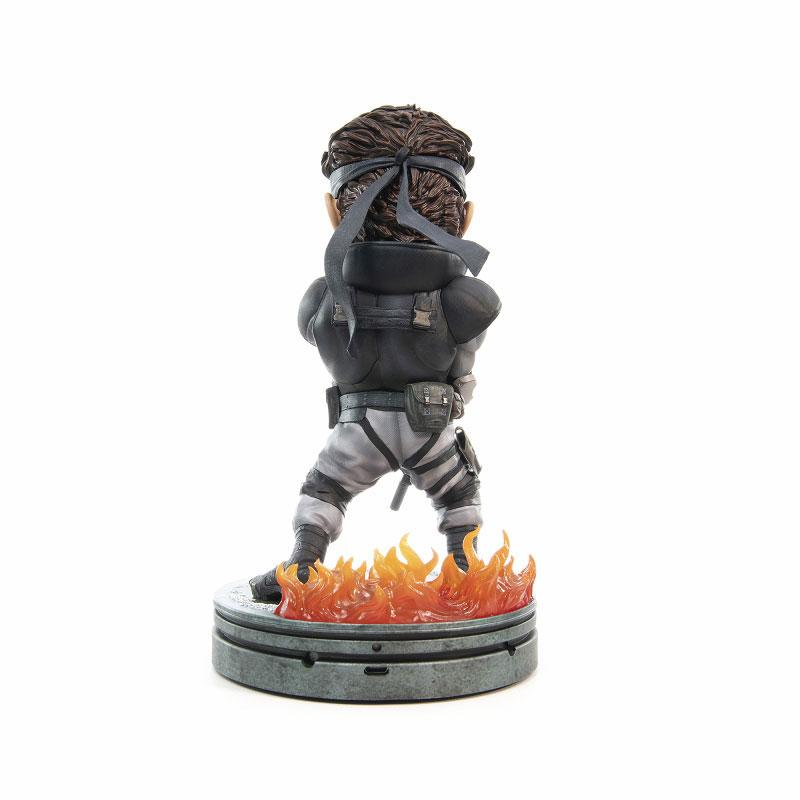 Metal Gear Solid / Solid Snake SD 8 Inch PVC Statue