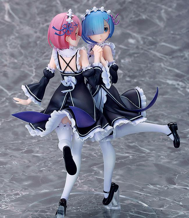 Re:ZERO -Starting Life in Another World- Rem & Ram Twins Ver. 1/7 Complete Figure
