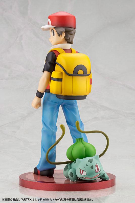 "ARTFX J ""Pokemon"" Series Red with Charmander 1/8 Complete Figure"
