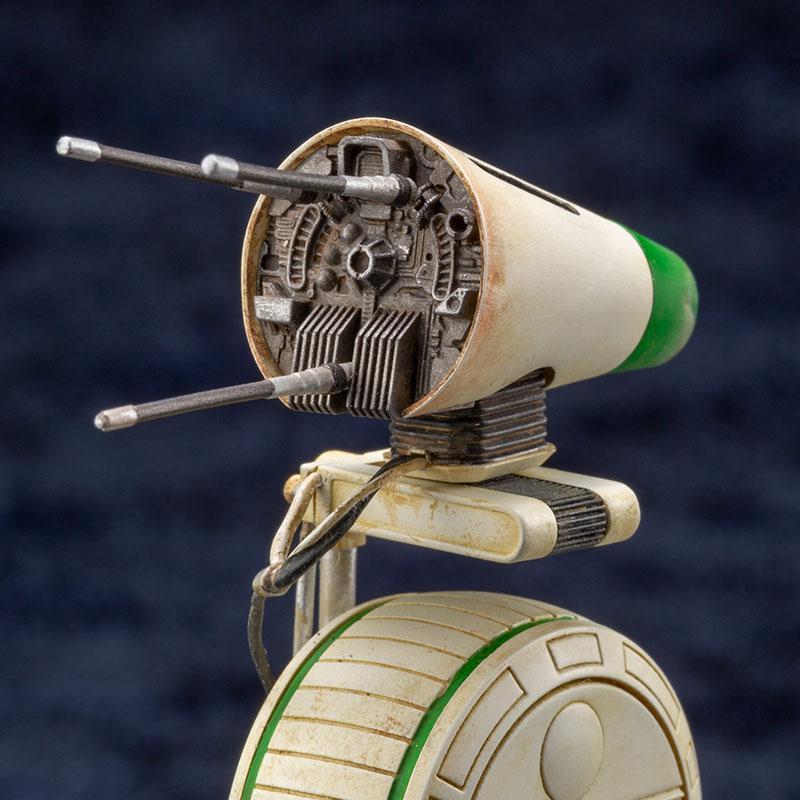 ARTFX STAR WARS: THE RISE OF SKYWALKER D-O & BB-8 1/7 Easy Assembly Kit 7