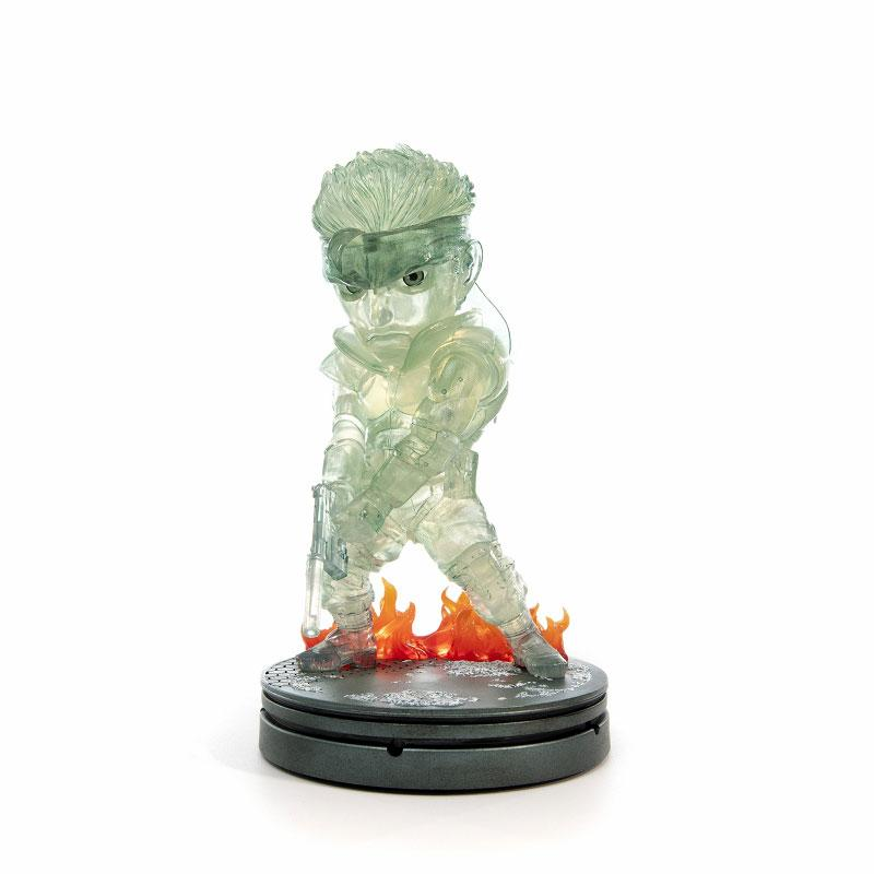 Metal Gear Solid / Solid Snake SD 8 Inch PVC Statue Stealth Camouflage ver product