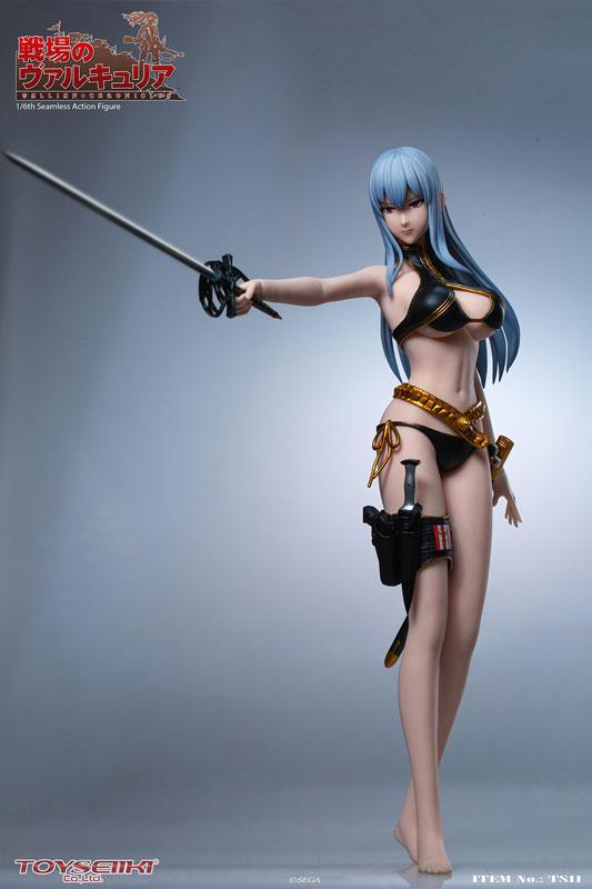 Valkyria Chronicles Selvaria Bles 1/6 Seamless Action Figure