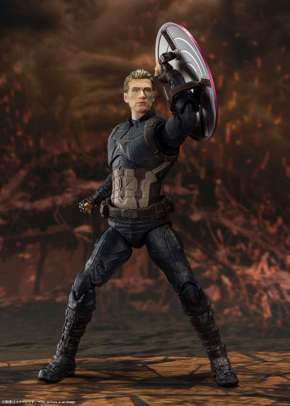 S.H.Figuarts Captain America -[FINAL BATTLE] EDITION- (Avengers: Endgame) 3