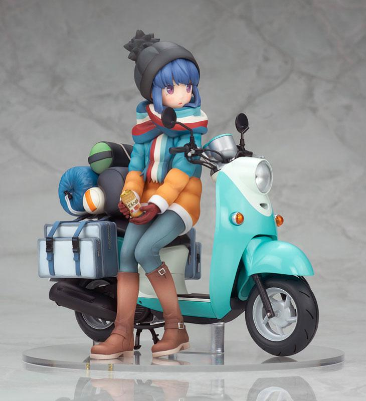 Yuru Camp Rin Shima with Scooter 1/10 Complete Figure main