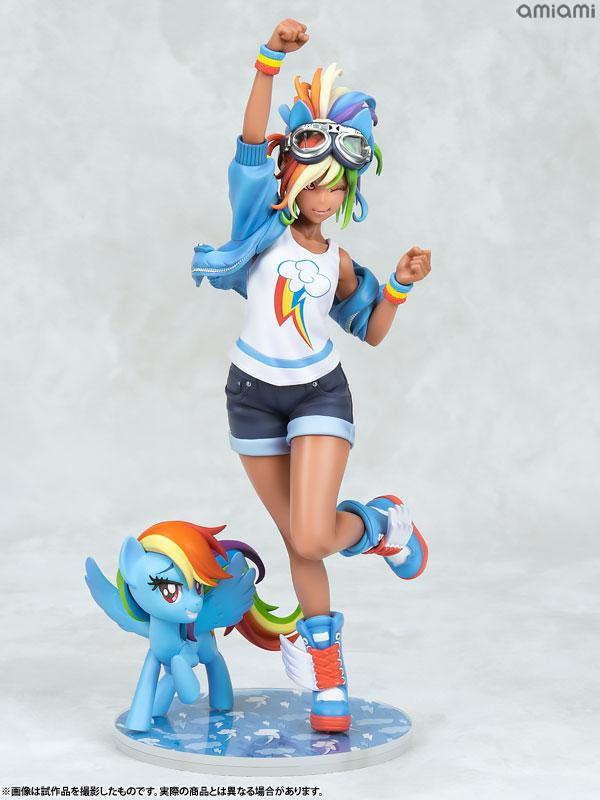 MY LITTLE PONY BISHOUJO Rainbow Dash 1/7 Complete Figure 6