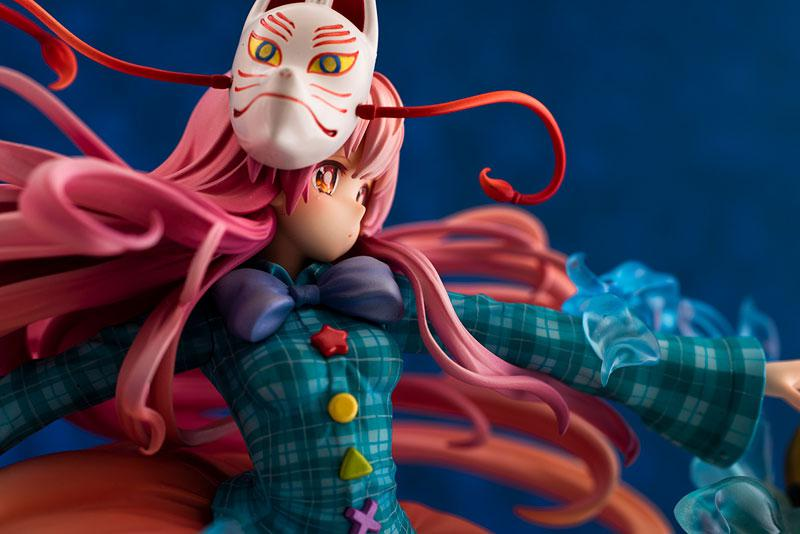 "Touhou Project ""The Expressive Poker Face"" Kokoro Hatano 1/8 Complete Figure 12"