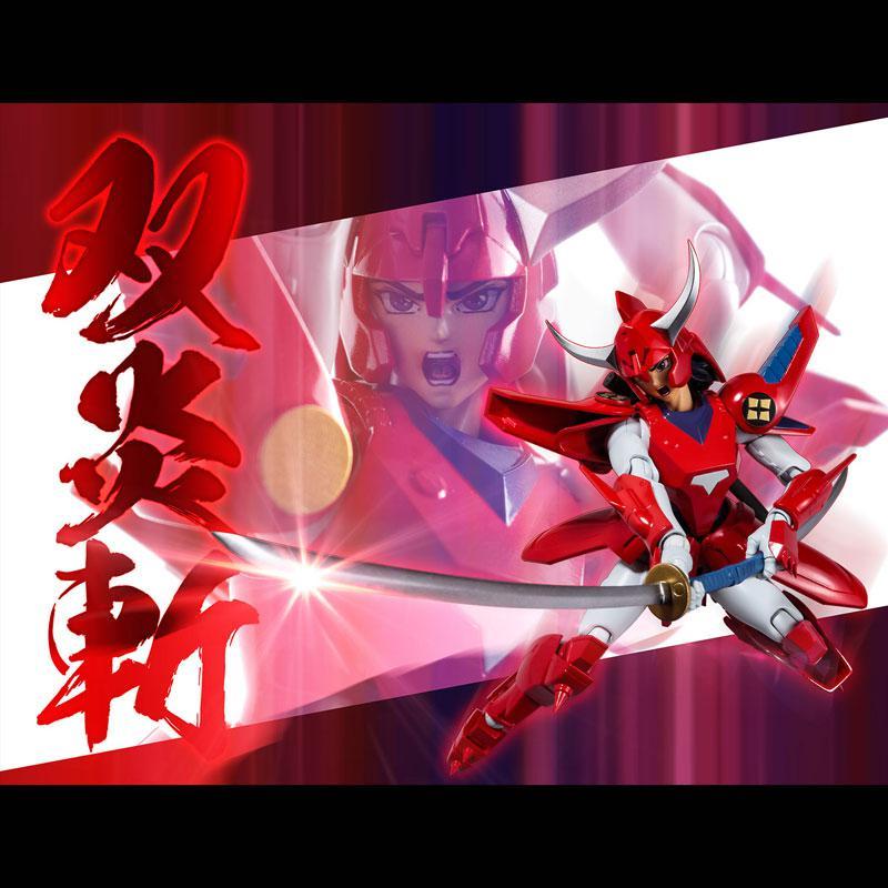 Choudan Kadou Ronin Warriors Ryo of the Wildfire Posable Figure 7