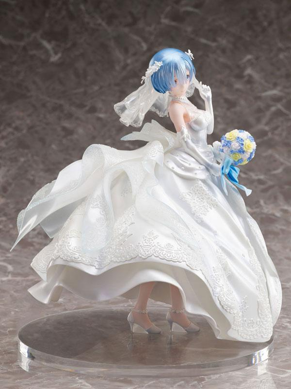 Re:ZERO -Starting Life in Another World- Rem -Wedding Dress- 1/7 Complete Figure
