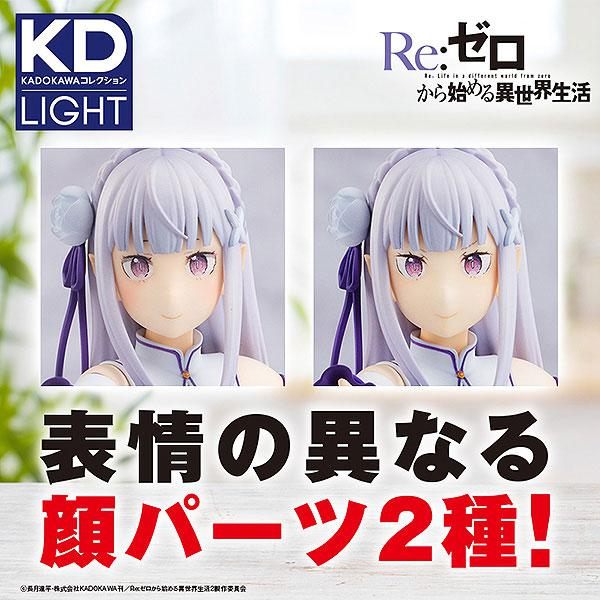 KADOKAWA Collection LIGHT Re:ZERO -Starting Life in Another World- Emilia Complete Figure