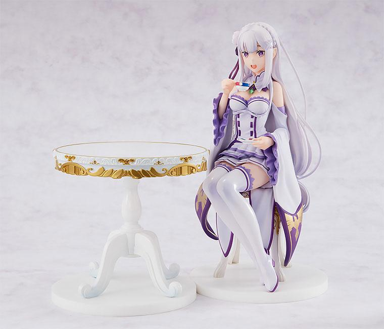 KDcolle Re:ZERO -Starting Life in Another World- Emilia Tea Party Ver. 1/7 Complete Figure product