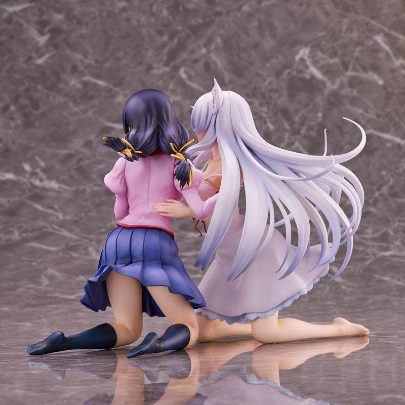 """""""Nekomonogatari"""" Tsubasa Hanekawa 2 Figures Set Complete Figure 8"""