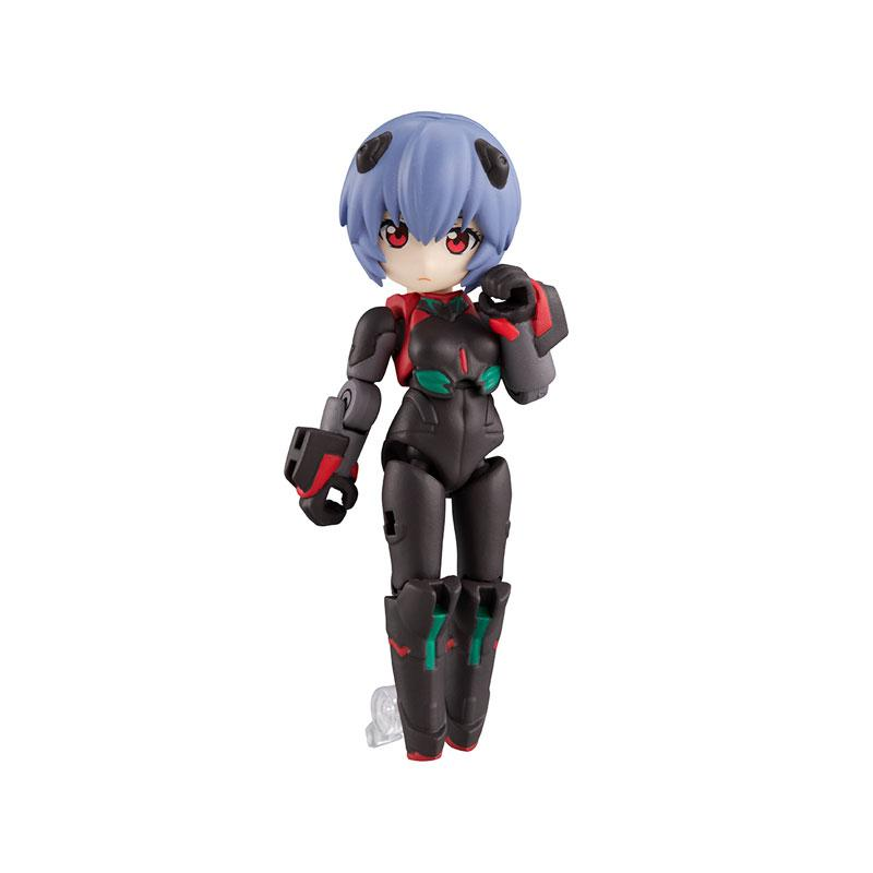 Desktop Army Rei Ayanami [Tentative Name] & Adams Unit-01 (Partly Transformed Mode) Zeele Design