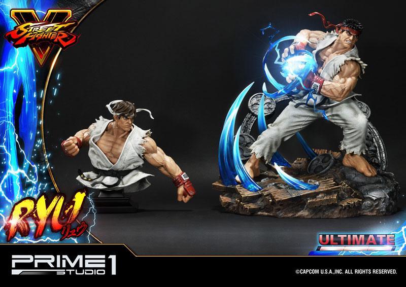Premium Master Line Street Fighter V Ryu Ultimate 1/4 Statue 10
