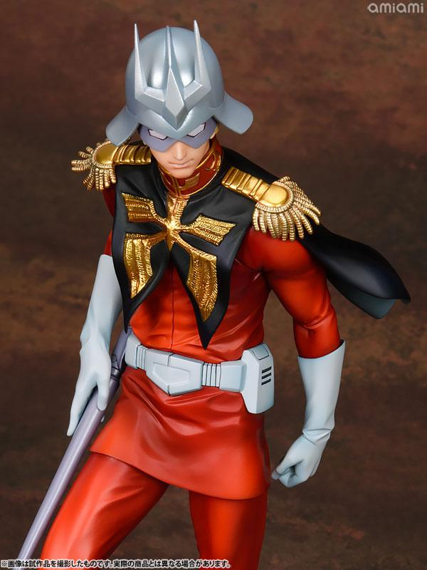 GGG (Gundam Guys Generation) Mobile Suit Gundam Char Aznable 1/8 Complete Figure 12