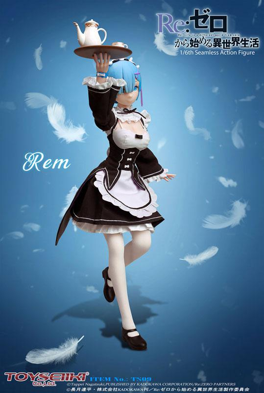 Re:ZERO -Starting Life in Another World- Rem 1/6 Seamless Action Figure 2