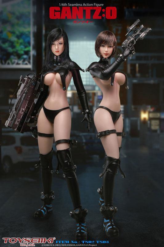GANTZ:O Reika & Anzu Yamasaki 1/6 Seamless Action Figures 0