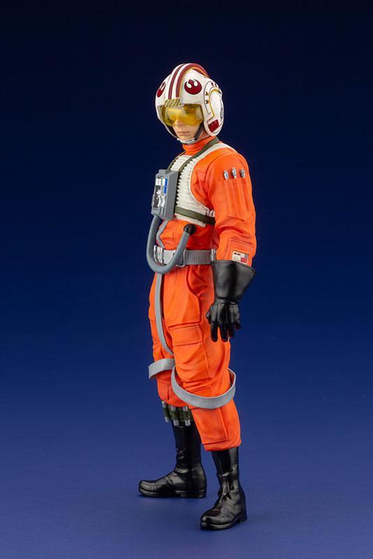 ARTFX+ Star Wars Luke Skywalker X-WING Pilot 1/10 Easy Assembly Kit 10