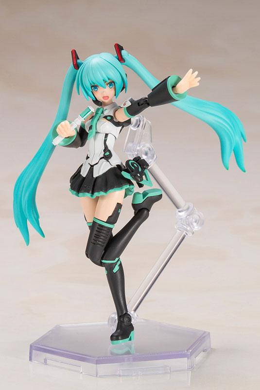 Frame Music Girl Hand Scale Hatsune Miku Plastic Model