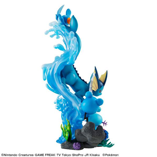 G.E.M. EX Series Pokemon Water Type DIVE TO BLUE Complete Figure
