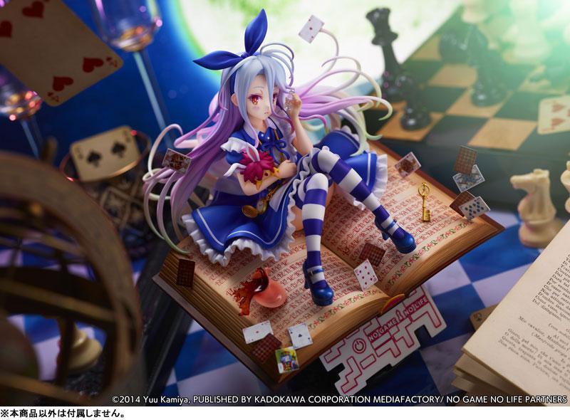 No Game No Life Shiro -Alice in Wonderland Ver.- 1/7 Complete Figure