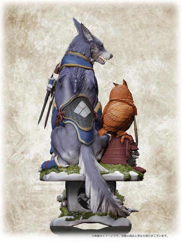 Capcom Figure Builder Creator's Model Monster Hunter Rise Palamute Complete Figure