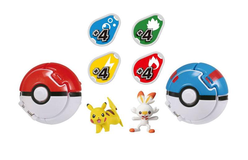 Pokemon MonColle PokeDel-Z Starter Set (Pokeball: Great Ball) main