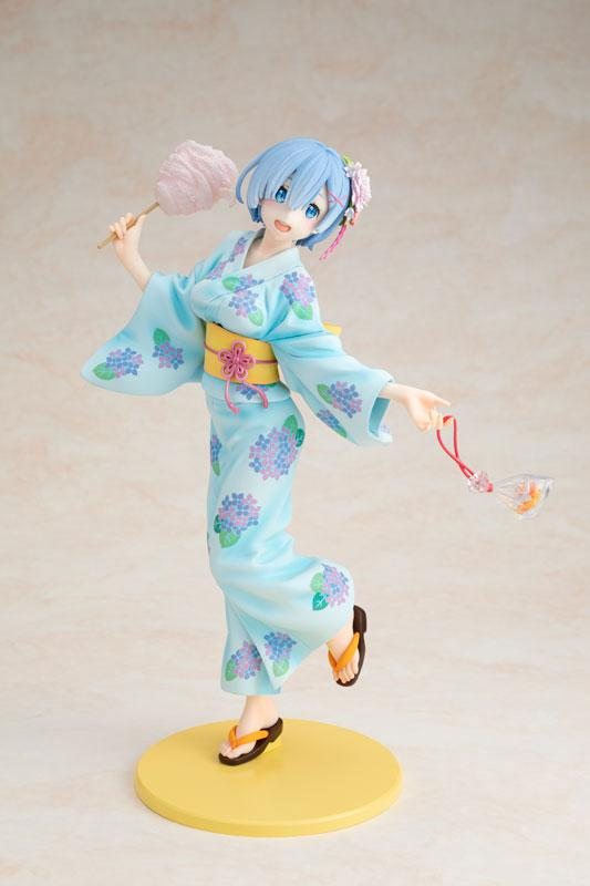 KDcolle Re:ZERO -Starting Life in Another World- Rem Yukata Ver. Repaint 1/7 Complete Figure 1
