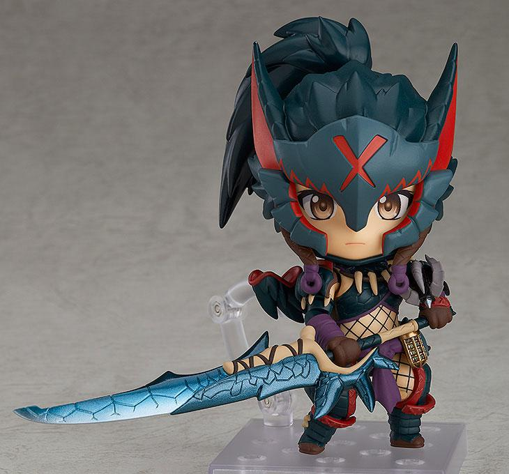 Nendoroid Monster Hunter World: Iceborne Hunter: Female Nargacuga Alpha Armor Ver. DX 3