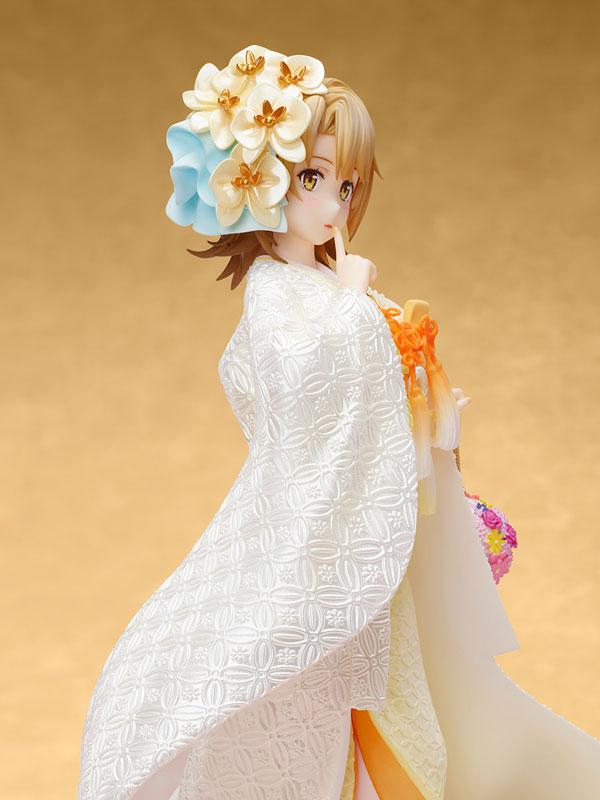 My Teen Romantic Comedy SNAFU. Completion Iroha Isshiki -White Kimono- 1/7 Complete Figure 4