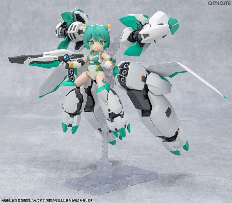 [Bonus] Desktop Army Alice Gear Aegis Sylphy II (Ganesha Equipment) Posable Figure main