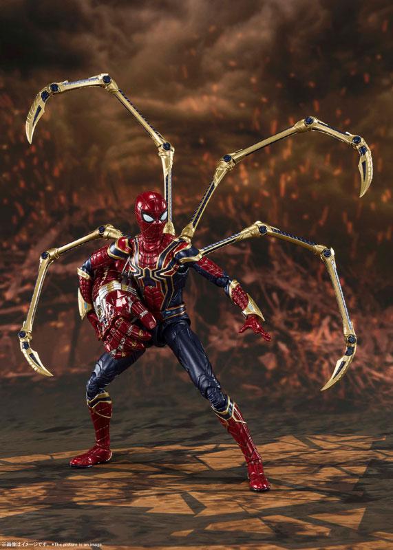 S.H.Figuarts Iron Spider -[FINAL BATTLE] EDITION- (Avengers: Endgame) 5
