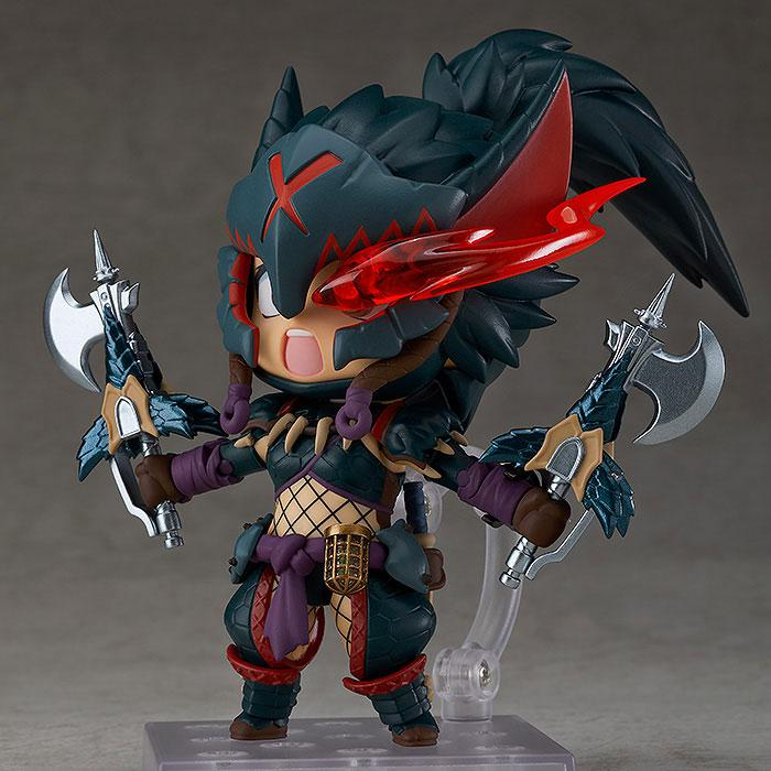Nendoroid Monster Hunter World: Iceborne Hunter: Female Nargacuga Alpha Armor Ver. DX