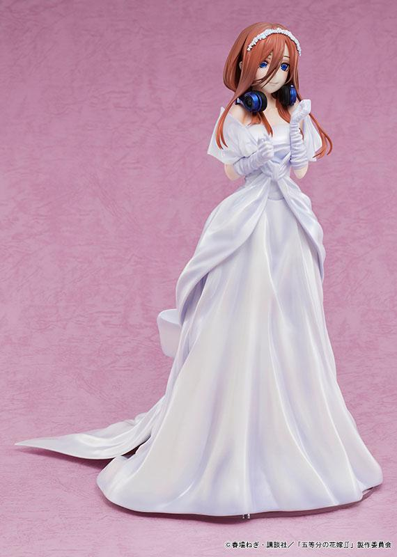 The Quintessential Quintuplets 2 Miku Nakano Wedding Ver. 1/7 Complete Figure product