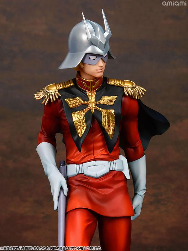 GGG (Gundam Guys Generation) Mobile Suit Gundam Char Aznable 1/8 Complete Figure 8