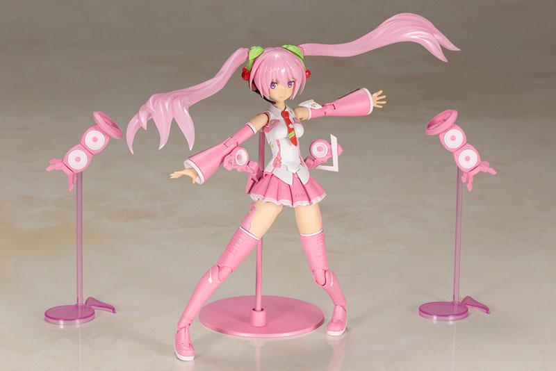 Frame Arms Girl Frame Music Girl Sakura Miku Plastic Model 3