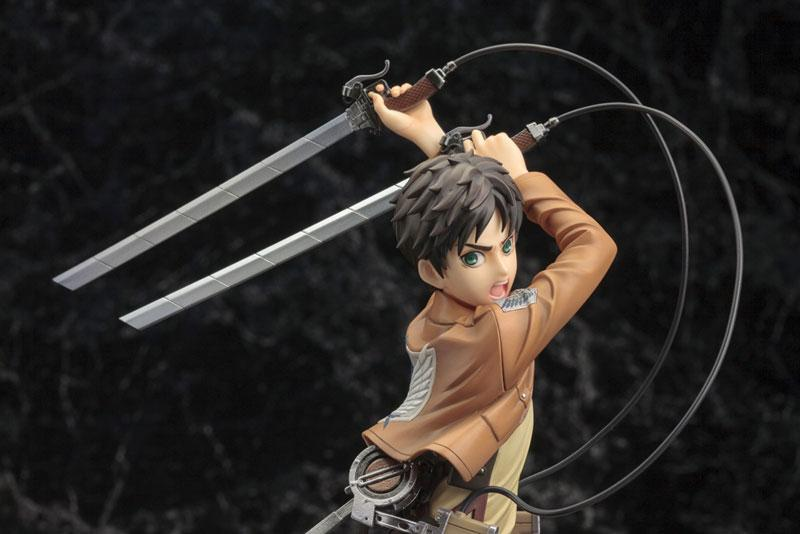 ARTFX J Attack on Titan Eren Yeager Renewal Package ver. 1/8 Complete Figure