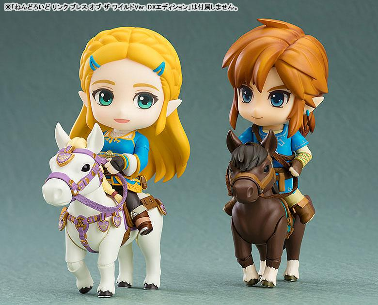 Nendoroid The Legend of Zelda Princess Zelda Breath of the Wild Ver. 4