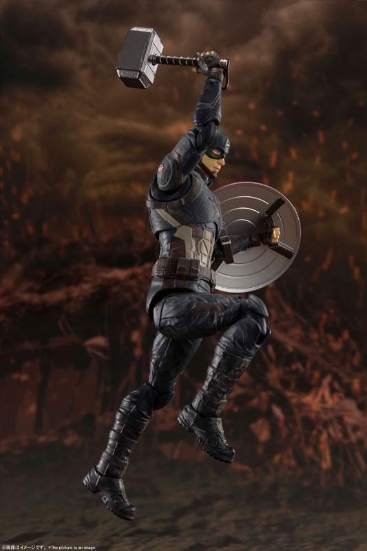 S.H.Figuarts Captain America -[FINAL BATTLE] EDITION- (Avengers: Endgame) 4