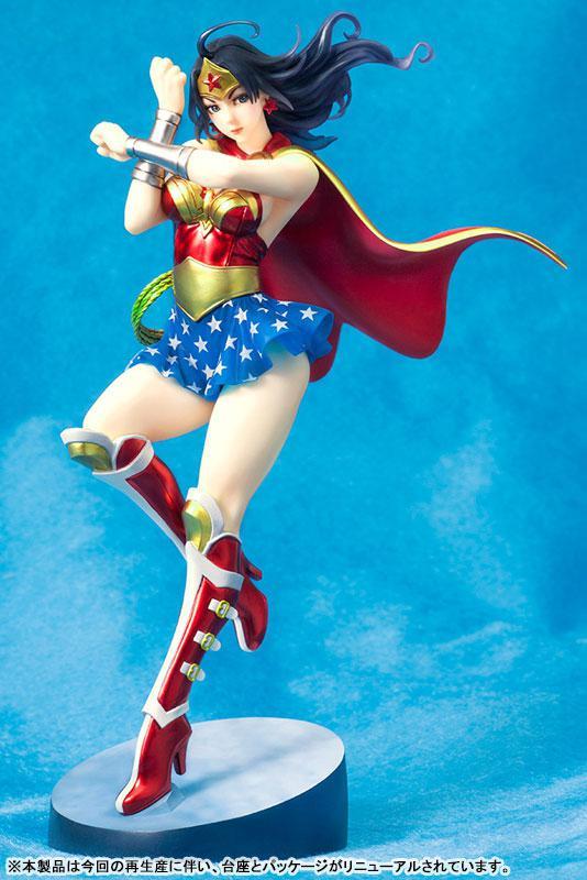 DC COMICS Bishoujo DC UNIVERSE Armored Wonder Woman 2nd Edition 1/7 Complete Figure main