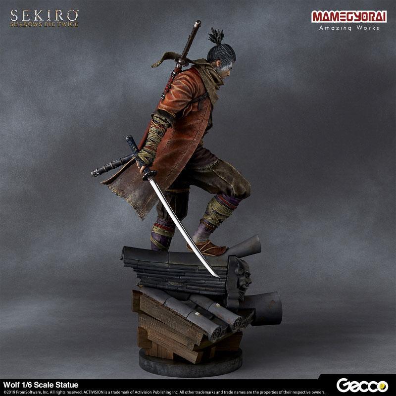 [Bonus] SEKIRO: SHADOWS DIE TWICE/ Wolf 1/6 Scale Statue 2