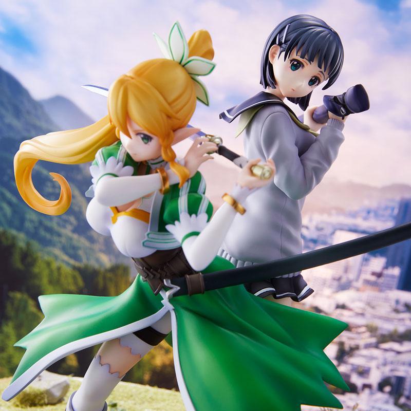 Sword Art Online Leafa & Suguha Kirigaya 2 Figures Set Complete Figures 1