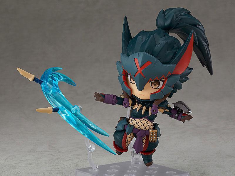 Nendoroid Monster Hunter World: Iceborne Hunter: Female Nargacuga Alpha Armor Ver. 1