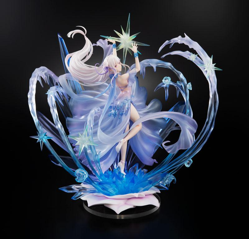 Re:ZERO -Starting Life in Another World- Emilia -Crystal Dress Ver- 1/7 Complete Figure 1