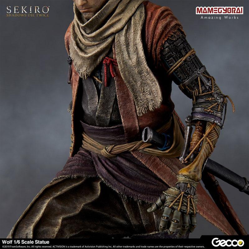 [Bonus] SEKIRO: SHADOWS DIE TWICE/ Wolf 1/6 Scale Statue 8