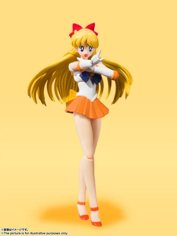 """S.H.Figuarts Sailor Venus -Animation Color Edition- """"Sailor Moon"""" product"""