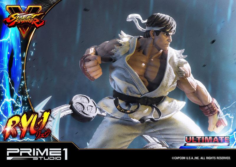 Premium Master Line Street Fighter V Ryu Ultimate 1/4 Statue 28
