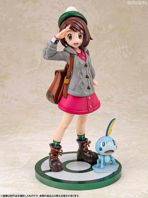 "ARTFX J ""Pokemon"" Series Gloria with Sobble 1/8 Complete Figure"