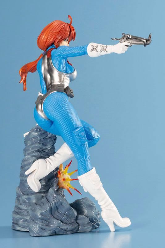 G.I. JOE Bishoujo Scarlett Sky-blue Limited Edition 1/7 Complete Figure 0
